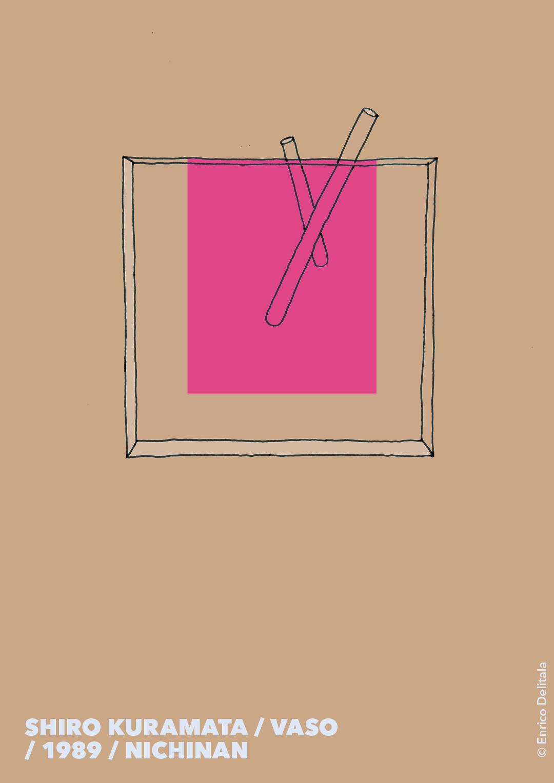 Vaso: Enrico Delitala Enrico Delitala illustrator Shiro Kuramata